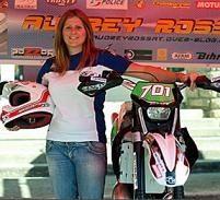 Audrey Rossat, championne de France d'enduro dans la douleur