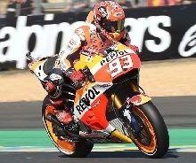 MotoGP - France J.2 Márquez : « mon rythme n'est pas mauvais »