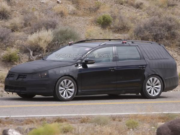 Spyshot : la prochaine Volkswagen Passat break