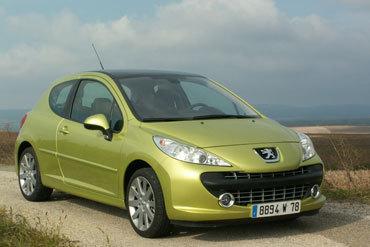 Peugeot 207 1.6 l THP 16v