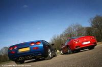 Photos du jour : Corvette C5 & Ferrari 550 Maranello