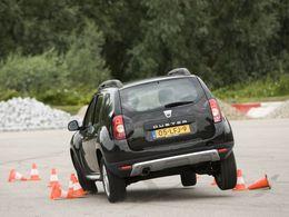 Dacia Duster 2 roues motrices : un risque de retournement sans l'ESP ?