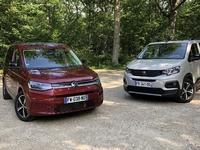 Comparatif vidéo - Volkswagen Caddy vs Peugeot Rifter : des différences insurmontables