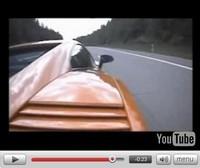 Lamborghini Gallardo Superleggera à 340 km/h sur autoroute allemande !