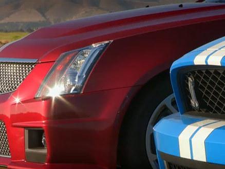 [Vidéo] En attendant la Camaro Z28, c'est la Cadillac CTS-V Coupé qui se mesure à la Shelby GT500
