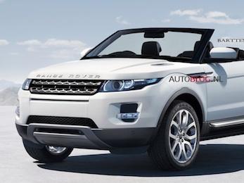 Range Rover Evoque: et pourquoi pas en cabriolet?