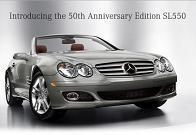 Mercedes SL550 50th anniversary
