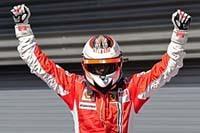 F1 : Kimi Raïkkönen remporte le GP du Brésil et décroche le titre de Champion du Monde