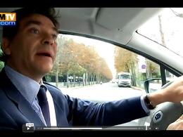 Arnaud Montebourg en flagrant délit d'excès de vitesse en Renault Zoé