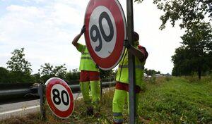 80 ou 90km/h sur les départementales: les Français sont perdus