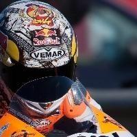 Moto GP - Valence: Dovizioso aura aussi son casque spécial