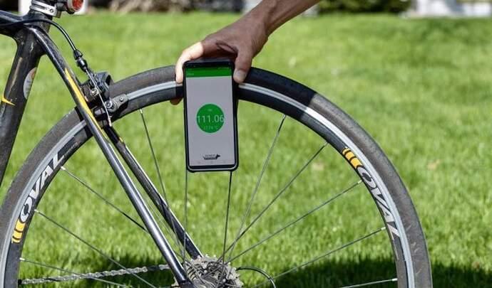 Vérifiez la pression de vos pneus depuis votre mobile!