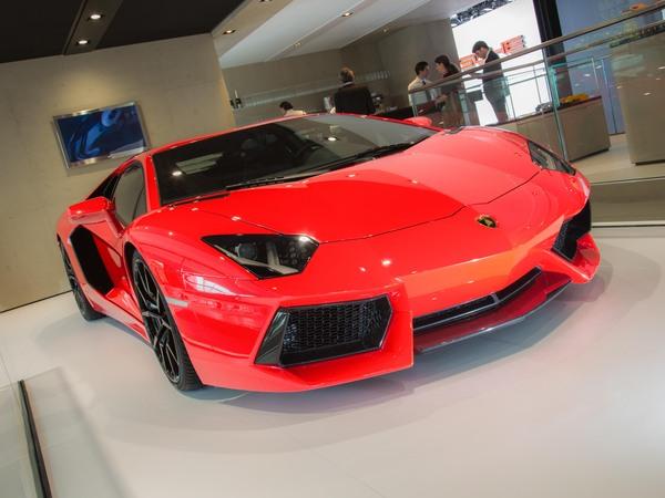 Petites évolutions pour la Lamborghini Aventador