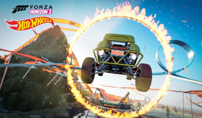 Test Forza Horizon 3 DLC Hot Wheels
