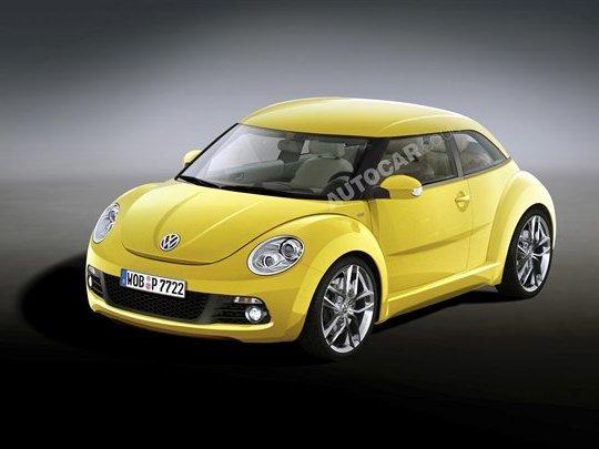 Prochaine Volkswagen New Beetle : ça approche