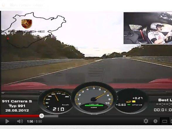 Ring Folies : la Porsche 911 Carrera S en 7'37''9
