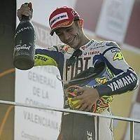 Moto GP - Valence: Rossi content de la tournure des événements