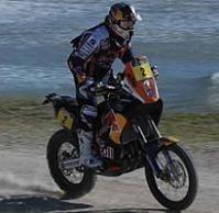 Dakar 2012 : Etape 3, Cyril Despres en bon navigateur