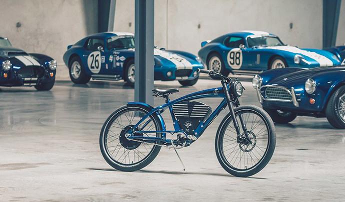 Shelby Cobra : et maintenant... en vélo électrique