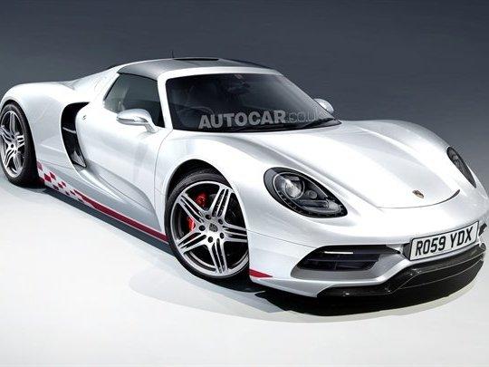 Porsche confirme la supersportive située entre 918 et 911