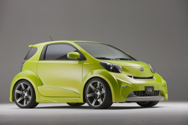 New York 2009 : Scion IQ Concept, de l'intelligence et des cuisses (67 photos HD)