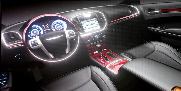 Bienvenue à bord de la future Chrysler 300C
