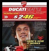 Moto GP - Ducati: Un concessionnaire américain a déjà intégré Valentino Rossi
