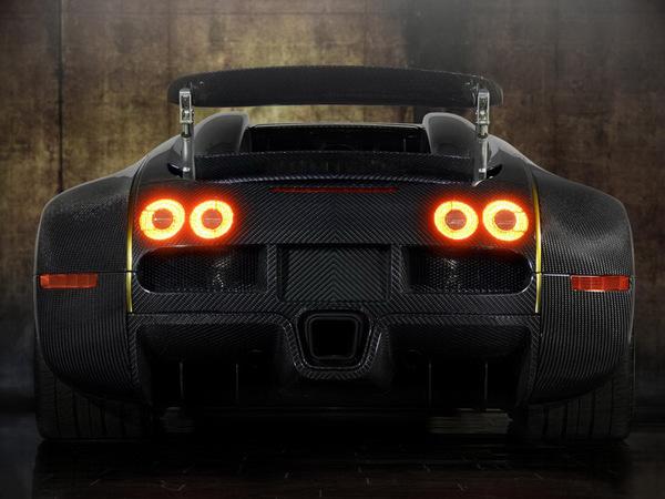 Bugatti Veyron Linea Vincero d'Oro par Mansory : pas super sport, mais super gold
