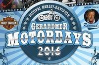 Le Gérardmer Motordays 2016: du 27 au 29 mai