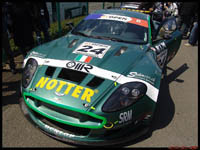 La photo du jour : Aston-Martin DBR9 GT Open