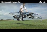 Homemade Hoverbike: la moto volante en vidéo