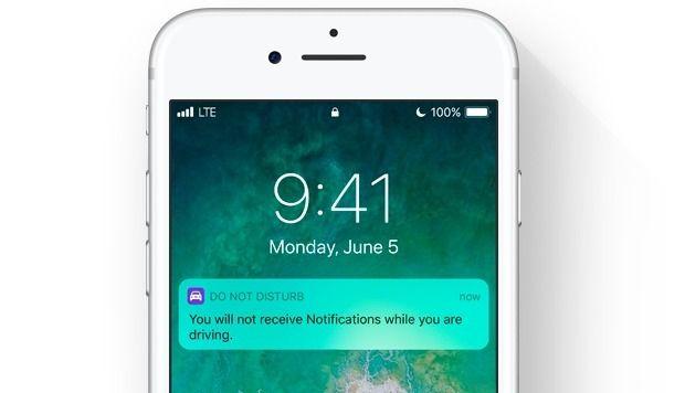 iOs 11 - L'iPhone détectera quand vous conduirez et le dira à ceux qui vous appellent