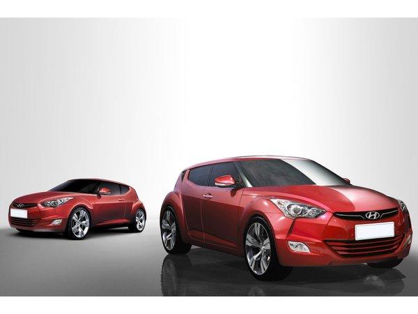 Hyundai Veloster : comme ça ?