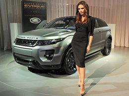 Le Range Rover Evoque élu voiture féminine de l'année 2012