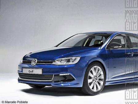 Voici la Volkswagen Golf 7