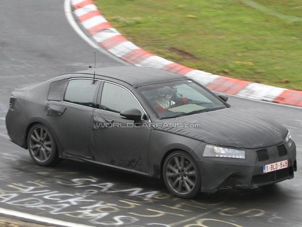 Future Lexus GS: surprise sur le Ring
