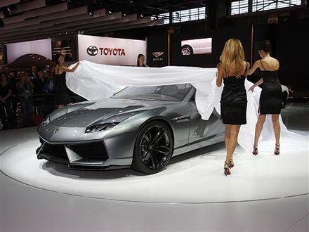 Lamborghini Estoque : dégelée !