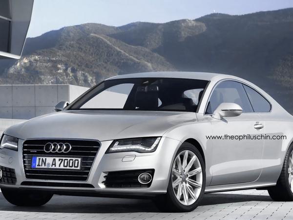 Et pourquoi pas une Audi A7 Coupé ?
