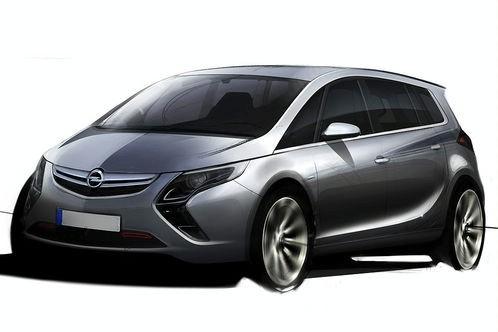 Futur Opel Zafira : comme ça ?