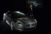 Les photos officielles de l'Aston DBS de James Bond