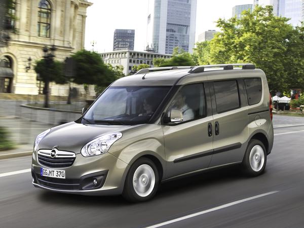 Le nouvel Opel Combo est... un Fiat rebadgé