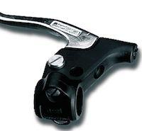 Magura: commande de frein mécanique et d'embrayage à câble.