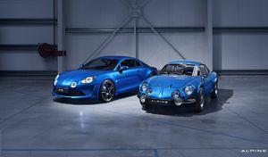 Hertz propose l'Alpine A110 Première Edition à la location
