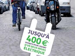 Aide à l'achat d'un deux-roues électrique : une campagne d'affichage à Paris dès le 11 août