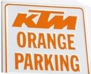 KTM s'affiche…