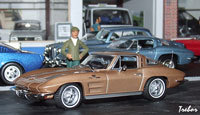 Miniature : 1/43ème - CHEVROLET Corvette Sting Ray