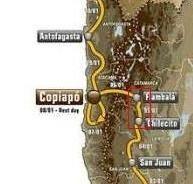 Dakar 2012 : Etape 5, de Chilecito à Fiambala