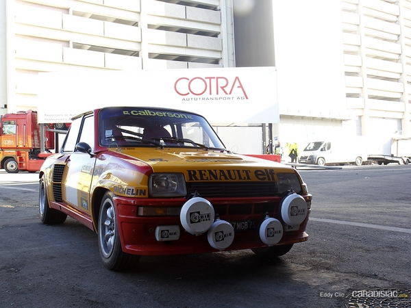 Photos du jour : Renault 5 Turbo (Rétromobile)
