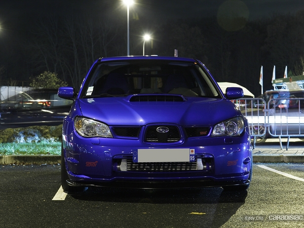 Photos du jour : Subaru Impreza STI Cosworth (Cars & Coffee)