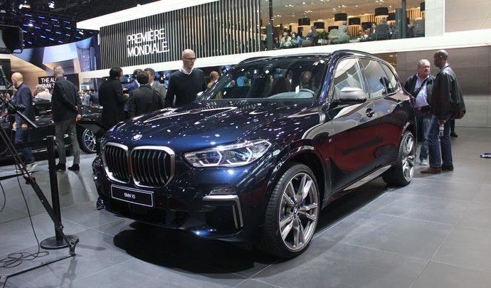 BMW X5 : les haricots magiques - Vidéo en direct du Mondial de Paris 2018